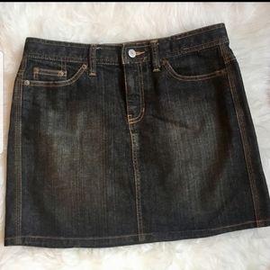 Gap Jeans size 4 Denim miniskirt